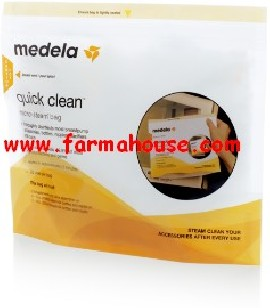 BOLSAS MEDELA QUICK CLEAN MICROON 5UDS