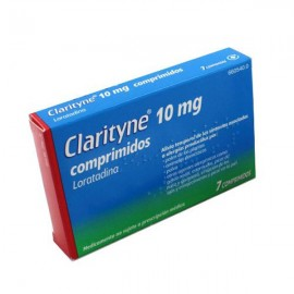 CLARITYNE 10 MG 7 COMP