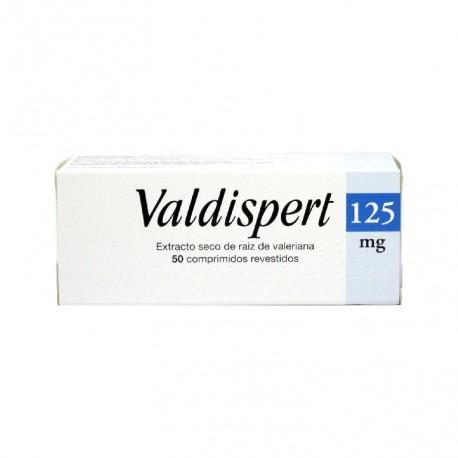 VALDISPERT 125 MG 50 COMP RECUBIERTOS