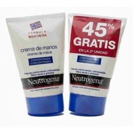 Neutrogena Crema de manos concentrada 2 ud