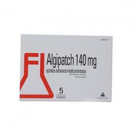 ALGIPATCH 140 MG 5 APOSITOS ADESIVOS