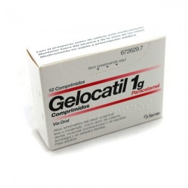 GELOCATIL 1 GR 12 COMP