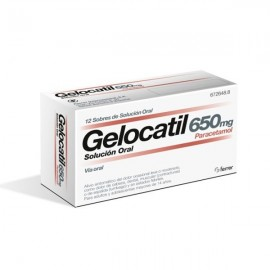 GELOCATIL 650 MG SOL ORAL 12 SOBRES