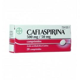 CAFIASPIRINA 500/50 MG 20 COMP