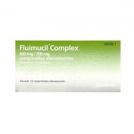 FLUIMUCIL COMPLEX 500/200 MG 12 COMP EFE