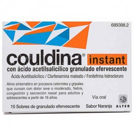 COULDINA INSTANT 10 SOBRES EFERV