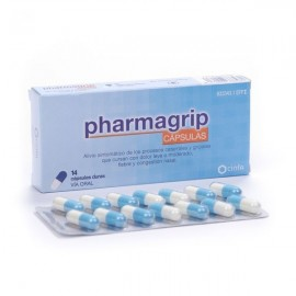 PHARMAGRIP 14 CAPS