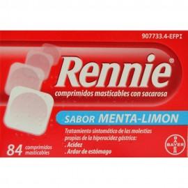 RENNIE CON SACAROSA MENTA LIMON 84 COMP