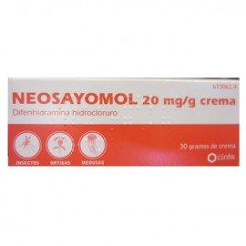 NEOSAYOMOL 2% CREMA 30 GR