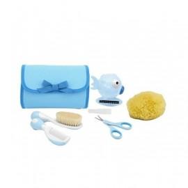 Chicco Set higiene niño azul-verde