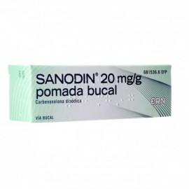 SANODIN 2% PDA BUCAL 15 GR