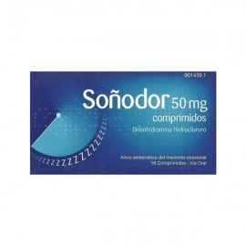 SOÑODOR 50 MG 16 COMP
