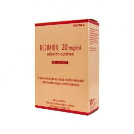 REGAXIDIL 20 MG/ML SOL CUTANEA 2X60 ML