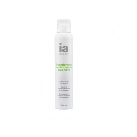 Desodorante Spray Neutro con Aloe Vera 200 ml