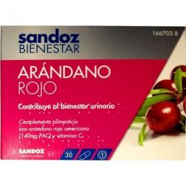 Sandoz Bienestasr Arándano Rojo 30 comp