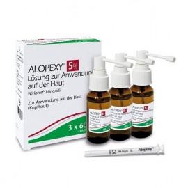 ALOPEXY 5% SOL CUTANEO 3 FRASCOS 60 ML