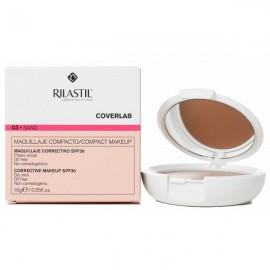 Rilastil Coverlab Maquillaje Compacto Tono Natural SPF30 Piel Seca, 10g