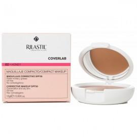 Rilastil Coverlab Maquillaje Compacto Tono Natural SPF30 Pieles Mixtas/Grasas , 10g