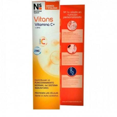 Cinfa Nature System Vitans Vitamina C+ Zinc, 20comprimidos efervescentes