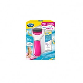 Scholl lima electrónica Velvet Smooth Diamond 1ud + sérum 30ml