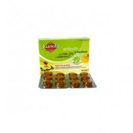 Juanola® pastillas própolis hiedra, miel y limón 24uds