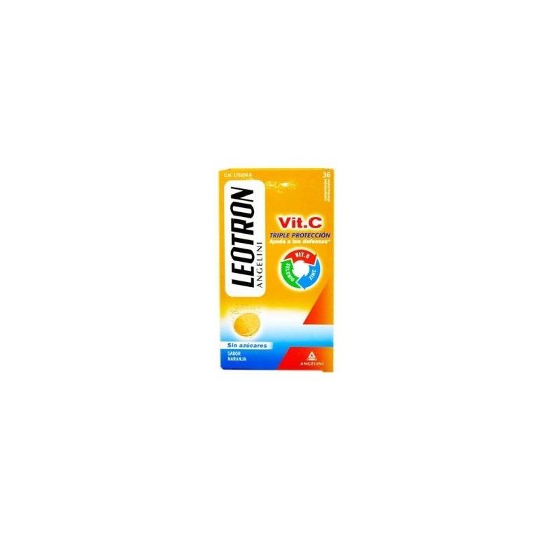 Leotron Vitamina C 36comp efervescentes