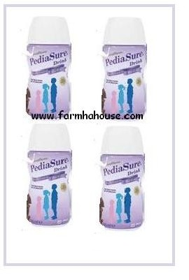 PEDIASURE DRINK 4 BOTTLE  200 ML