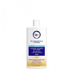 Be+ oleogel de Baño sin Jabón piel muy seca 1L.
