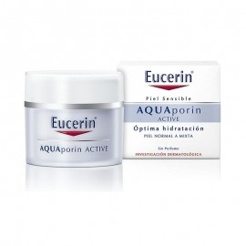eucerin aquaporin active pieles normal o mixtas 50ml