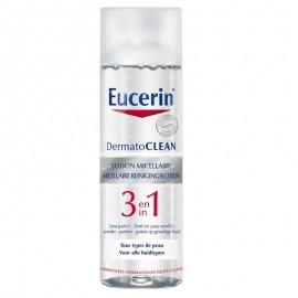 Eucerín  Dermatoclean solucion micelar 3 en 1 envase 200 ml