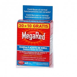 MEGARED 500 MG 40 CAPSULAS