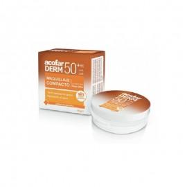 Be+ Maquillaje Compacto solar piel clara 50+, 10 gr