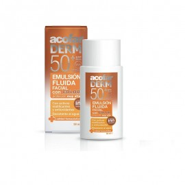 Acofarderm Emulsion fluida con color SPF 50 envase de 50ml