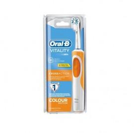 Oral-B CrossAction Pro 600 cepillo eléctrico naranja 1ud