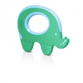 Philips Avent mordedor elefante 3M+ color verde SCF199/00