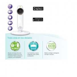 Avent vigilabebés ugrow smart baby monitor