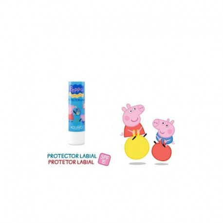 Protector labial Peppa pig spf15