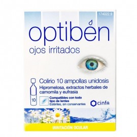 Optiben ojos irritados 10unidosis