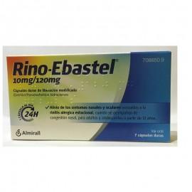 RINO EBASTEL 10/120 MG 10 CAPS