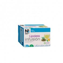 Ns lipoless infusion s/menta 20 sobres