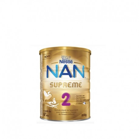 leche Nan 2 optipro supreme  800 gr de Nestle
