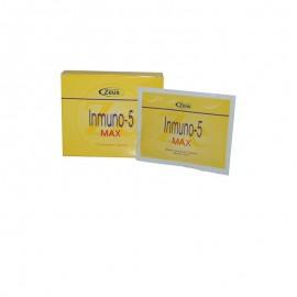inmuno 5 max 7 sobres zeus