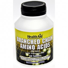 branched chain aminoacids HealthAid 60 tablets