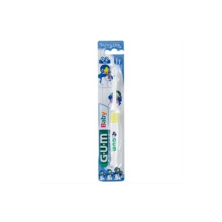 gum cepillo dental baby 213 0-2 años