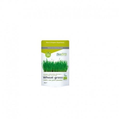 Wheat grass raw  jugo de trigo 200gr Biotona