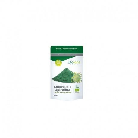 chlorella spierulina Raw Biotona 200 gr