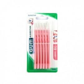Gum cepillo proxabrush microfino 6ud 2314