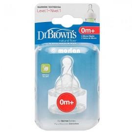 Dr. Brown's tetina standard recién nacido