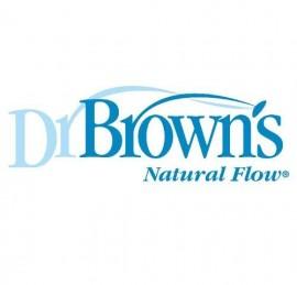 Dr Brown's tetina silicona boca ancha +6meses 2uds