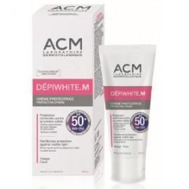 Depiwhite M crema solar sin color de ACM spf50+